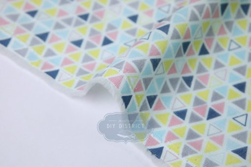 Tissu triangles en coton double gaze